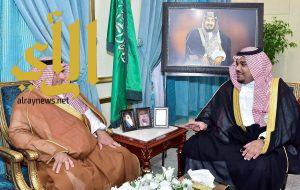 الأمير تركي بن هذلول يستقبل مدير جامعة نجران