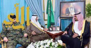 نائب أمير نجران يستقبل قائد الفوج الأمني بالمنطقة