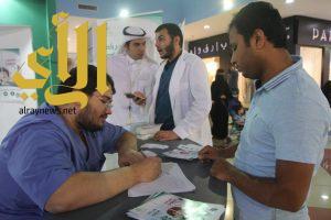 """""""صحة الرياض""""تواصل حملة التطعيم بلقاح الانفلونزا الموسمية بالمراكز التجارية"""