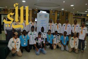 رواد كشافة المجمعة يشاركون بالجامبوي العالمي جوتا وجوتي
