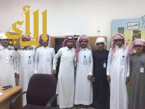 ثانوية الملك سعود بالمضة تنفذ تجربة المجلس الإنتخابي الطلابي