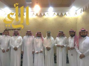 أسرة آل عوضه تحتفل بزواج ابنها سعيد بن هيف