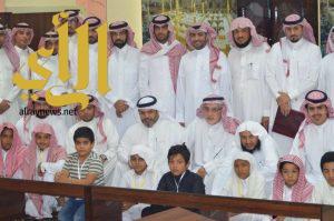 مدير تعليم شرق الرياض يفتتح مقرأة للقرآن الكريم بابتدائية سراقة بن مالك