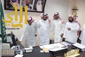 الطريقي يدشن تطبيق المدرسة الذكية في ثانوية الرياض بالزلفي