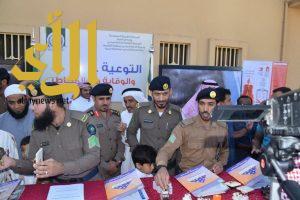 مدني القصيم يوصل رسالة ومعرضاً توعوية عبر أئمة خطب المساجد