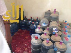 بلدية مليجة تصادر كميات كبيرة من المواد الغذائية من منزل حولته العمالة الى مستودع