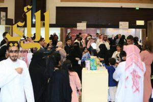 فعاليات منوعة وحضور كبير لمعرض النخبة في يومه الثاني