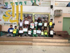 تفعيل اليوم الدولي لمكافحة الفساد بمدرسة الاشعري ببريدة