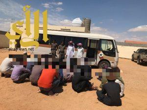 شرطة محافظة طبرجل تواصل حملات وطن بلا مخالف