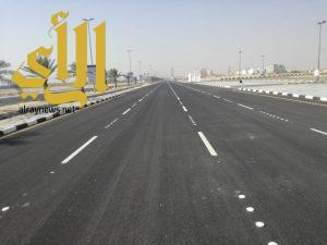 أمانة الشرقية تنهي تطوير شارع معارض الظهران