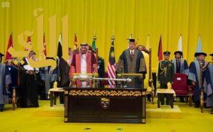 خادم الحرمين: العالم الإسلامي يواجه تحديات في مجال المعرفة العلمية والتقنية