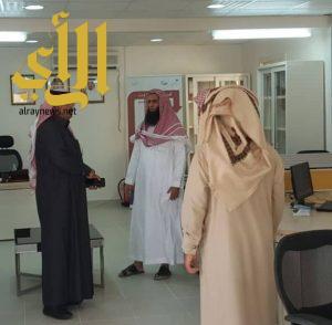 الشهراني يتفقد مكتبي الضمان الاجتماعي بمحافظة تثليث والامواه