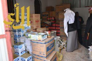 بلدية طريف تضبط مستودع مواد غذائية مخالف وكميات من المواد الغذائية سيئة التخزين
