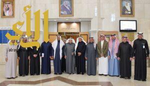 مجلس إدارة ( سابك ) يزور مركز الملك سلمان الاجتماعي