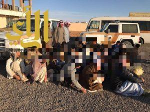 شرطة منطقة الجوف تواصل حملاتها بمشاريع بسيطا وميقوع