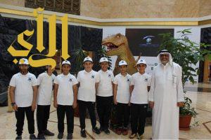 فريق جلوب بالنموذجية الثالثة يزور المعرض المصاحب لفعاليات المؤتمر الجيولوجي ال12