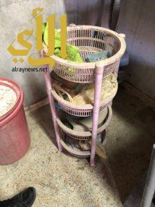 بلدية العويقيلة تضبط بايع الفطائر على طلاب المدارس وتعثر على قوارض وفئران