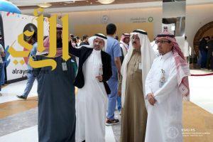 انطلاق المعرض الثقافي لصحية الملك سعود في الحرس الوطني