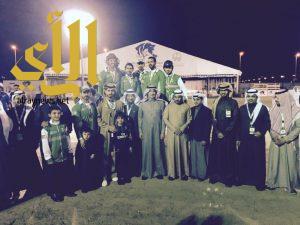 المنتخب  السعودي للفروسية يحصد المركز الأول في أولى جولات تصفيات كأس العالم لالتقاط الأوتاد
