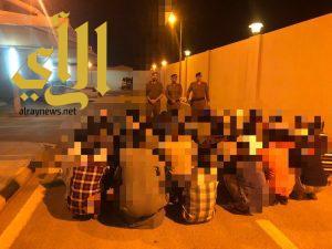 حملة أمنية بمحافظة دومة الجندل مساء الاثنين