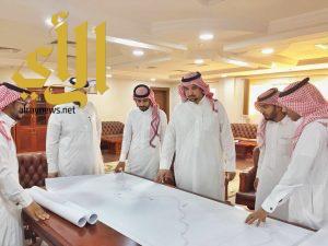 فريق سلامة الطرق يزور منطقة الباحة لدراسة النقاط السوداء