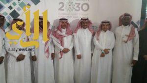 الوهيبي يفتتح معرض وزارة التعليم حقائق وأرقام بسوق تالا مول