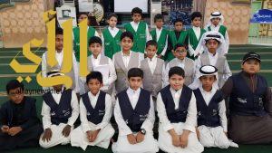 """طلاب مدرسة الفيصلية بمكة المكرمة في زيارة لمشروع """"تعظيم البلد الحرام"""""""