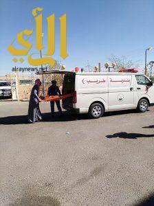حالتين وفاة وثلاث اصابات في فرضية نفذتها إدارة الدفاع المدني بمحافظة طريب