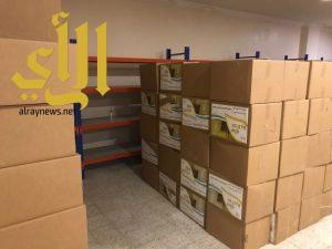بر الشرائع تبدء المرحلة الثانية من توزيع السلال الغذائية على المستفيدين