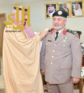 أمير نجران يقلد آل ذيبة رتبته الجديدة