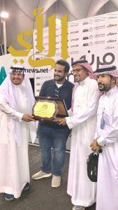 تكريم فريق التميز التطوعي خلال مشاركته في فعالية اسبوع رياضة السيارات السعودي