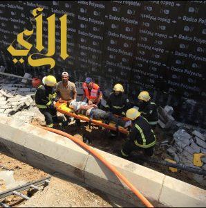 إصابة 13 في حادث تصادم على طريق الهجرة