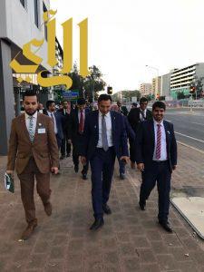 الملحق الثقافي بأستراليا ورؤساء الأندية السعودية يشاركون في اليوم العالمي للمياه