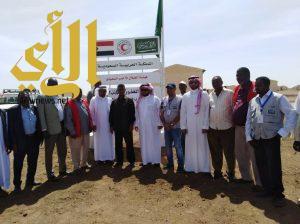 وفد من الهلال الأحمر السعودي يقوم بزياردة المركز الصحي بالخرطوم