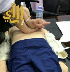 مستشفى فيفاء العام يقيم دورة تدريبية فى مبادئ الأسعافات الأولية