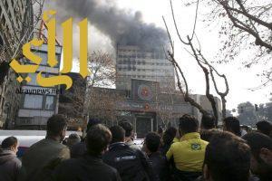مقتل 30 رجل إطفاء إثر انهيار مبنى في إيران
