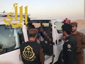 """حملات أمنية بمنطقة الجوف ضمن حملة """"وطن بلا مخالف"""""""