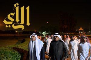 أمين الشرقية يتفقد مشروع تطوير منتزه الملك فهد