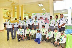 الدكتور الفهد يطّلع على جهود الكشافة لخدمة الحجاج المغادرين من منفذ حالة عمار