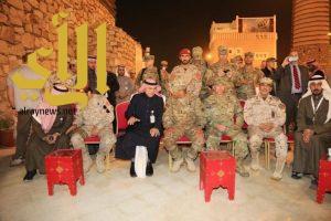 قائد القوات البرية الأمريكية يشارك الفلكلور العسيري و سفير اليمن ووزير المغتربين يشيدان بالجنادرية