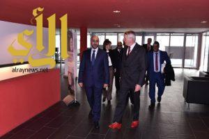 اجتماع مثمر بين رئيس الاتحاد الدولي وتركي بن مقرن