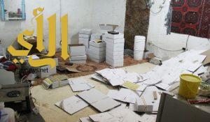 بلدية النعيرية تضبط 1.5 طن من التمور المعبأة والمخزنة بطريقة غير صحية