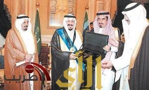 ولي العهد يقدر جهود جامعة الملك سعود
