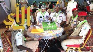 كشافة تعليم وادي الدواسر تختتم مشاركتها في منافسات رسل السلام بالباحة