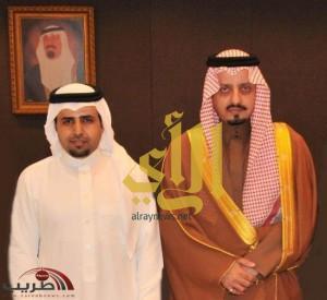 """أمير منطقة عسير يشكر """" سعيد آل ناجع"""" ويشيد بصحيفة طريب"""