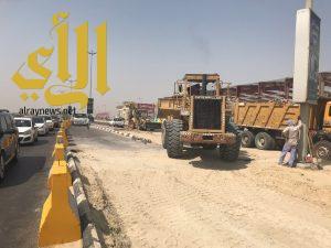 بلدية القطيف : الإنتهاء من تقاطع شارع الرياض خلال أسبوعين