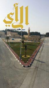 بلدية قرية العليا تنتهي من إنشاء حديقة حي الربيع