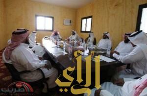 اجتماع أعضاء مجلس جائزة طريب للتفوق العلمي في محافظة طريب