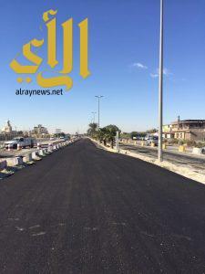 بلدية القطيف تبدأ في تطوير تقاطع شارع مكة والخامس عشر بسيهات