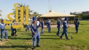 بلدية شرق الدمام: 400 رجل نظافة، وزراعة 850 ألف زهرة في نطاق البلدية